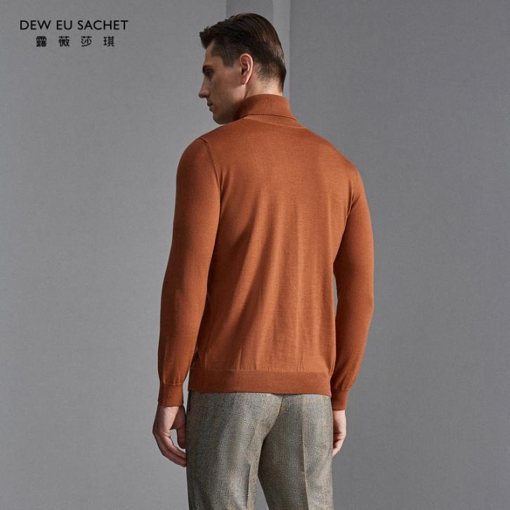 春寒料峭之时,用这款衣邦人高端定制羊绒衫,温暖我们最爱的父母