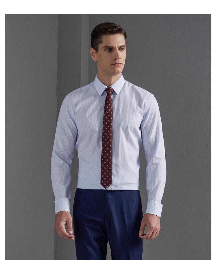衣邦人定制长袖衬衣,我的出差必穿好物!