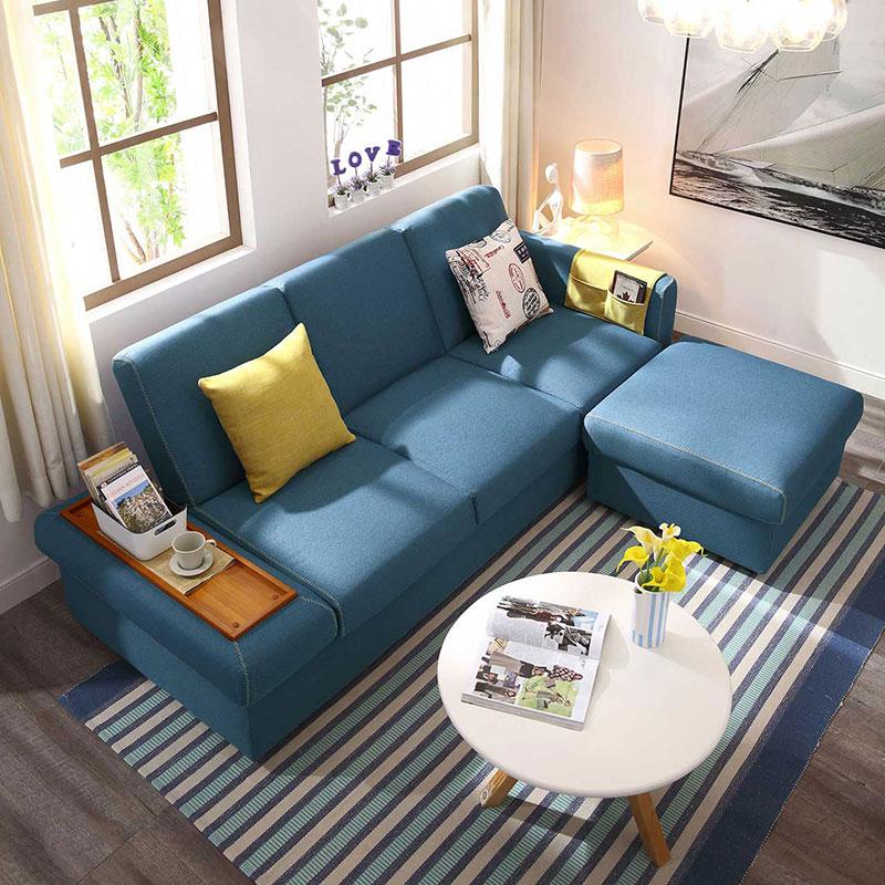 林氏木业双十一大促,打造便宜又实用的沙发小户型